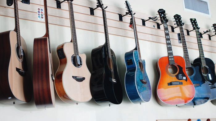 cayman music school guitar store
