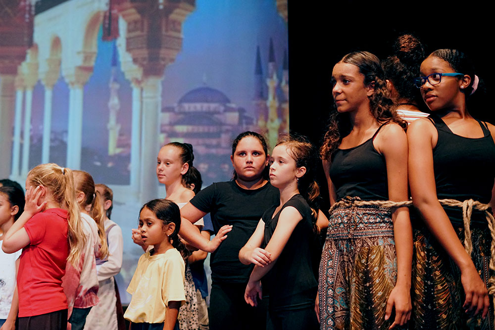 aladdin theatre play musical cayman islands music school